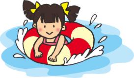 長島スパーランドのプール